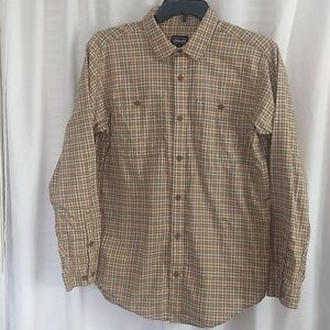 Men's Patagonia Plaid Button Down Shirt
